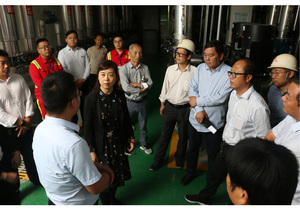 河南省能源局领导深入沈丘清洁取暖项目召开现场会推进清洁取暖工作