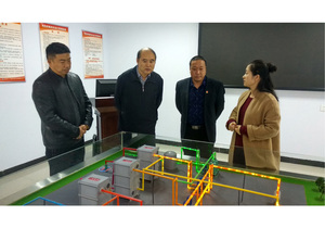 原国家能源局副局长国务院参事吴吟到三门峡陕县清洁取暖项目调研推进清洁取暖工作