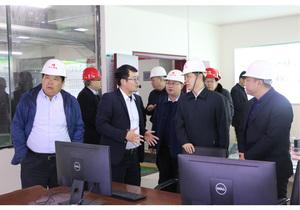 河南省能源局领导到清洁取暖项目视察