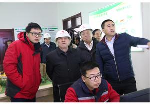 原国家能源局局长国务院参事徐锭明视察沈丘清洁取暖工作与一线员工亲切交流