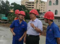 河南万江新能源、郑州地美特新能源科技有限公司董事长陈泽民赴新浪河南参观访问